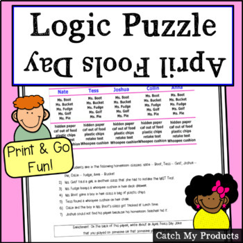 April Fool's Day Logic Puzzle