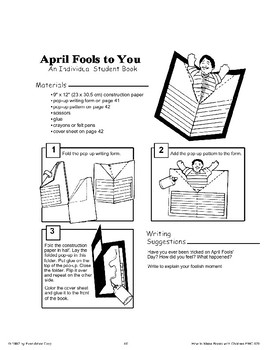 April Fools' Day: Making Books