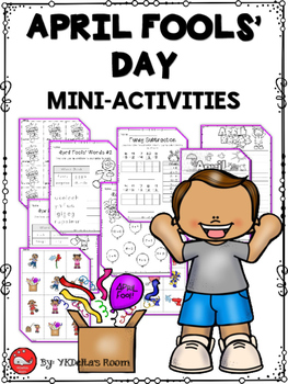April Fools' Day Mini-Activities