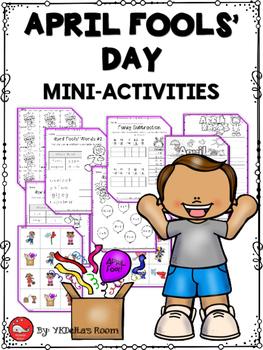 April Fools' Day Mini-Activities