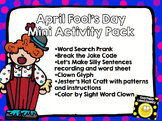 April Fool's Day Mini Activity Pack