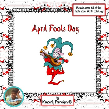 April Fools Day Nonfiction Task Cards
