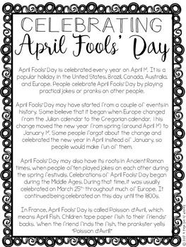 April Fools' Day Paper Bag Book - Holidays Paper Bag Books