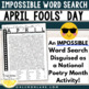 April Fools' Day Prank | April Fools Day Activity | April Fools Word Search ELA