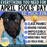 April Fools' Day Prank | April Fools Day Activity | April Fools Word Search ELA