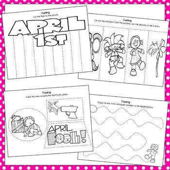 April Fools Day Preschool Packet