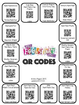 April Fools Day QR Codes