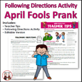 April Fools Day Activities