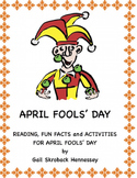 April Fool's Day! Reading,Fun Facts and Activities (Distan