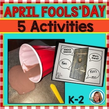 April Fools' Day STEM  and Writing Activities
