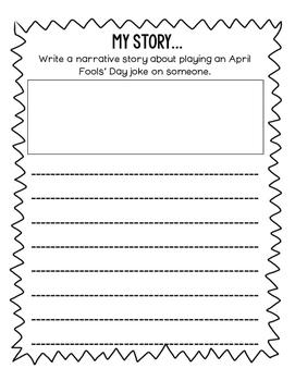 April Fools Day WRITING Activities