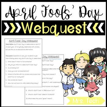 April Fools Day Webquest