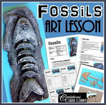 Art Lesson for Kids: Fossil, Art Activity