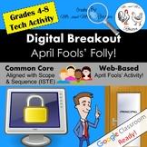 April Fools' Digital Breakout - April Fools' Folly! April Digital Escape Room