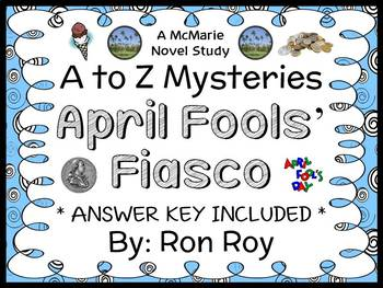 April Fools' Fiasco : A to Z Mysteries Super Edition (Roy)