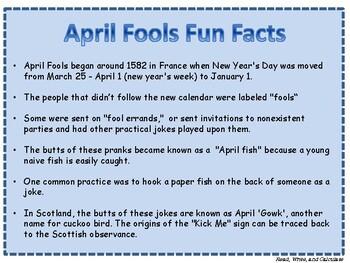 April Fools Fun