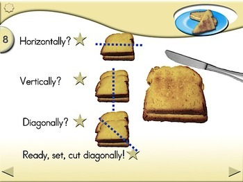 April Fools Grilled Cheese Sandwiches - Animated Step-by-Step Recipe SymbolStix