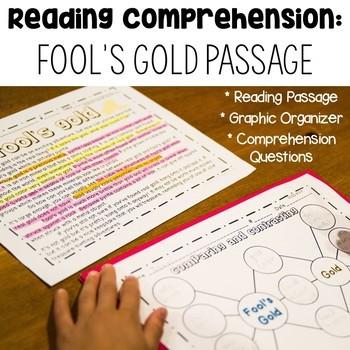 Distance Learning NO PREP April Fool's Math & Literacy Fun -Common Core Aligned