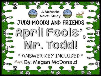 April Fools', Mr. Todd! (Megan McDonald) Novel Study / Comprehension (15 pages)