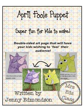 April Fools Puppet