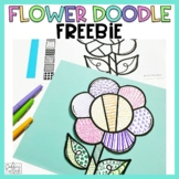 April Freebie Flower Doodle