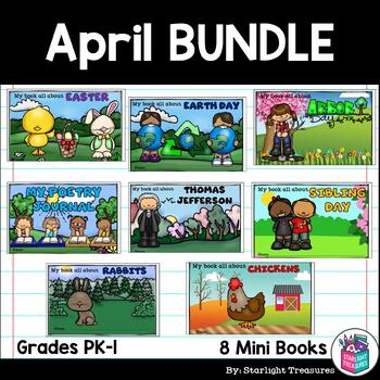 April Fun Bundle: Easter, Earth Day, Poetry Journal, Rabbits, Chickens, & More!