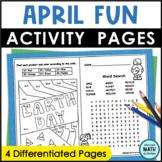 April Fun Pages