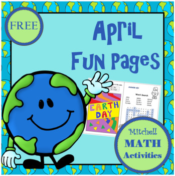 April Fun Pages by Mitchell MATH Activities | Teachers Pay Teachers