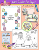 April Fun Pages - Coloring and Activity Download - Distanc