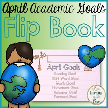 April Goals Flip Book