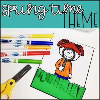 April Grab and Go Scissor Skills Activities