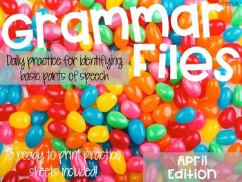 April Grammar Files: A Spiral Review