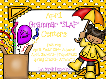 April Grammar SLAP Centers