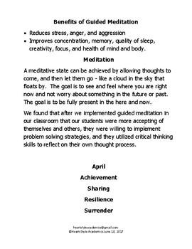 April Guided Meditation Bundle