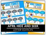 April Hide and Seek - Letter Edition