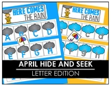 April Hide and Seek - Letter Edition