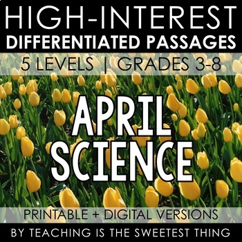 April Passages: Science