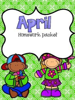April Homework Packet