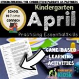 April Homework Packet: Kindergarten
