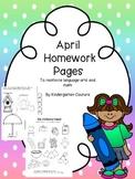 April Homework