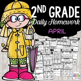 April Homework | 2nd Grade