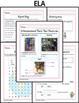 April Homework or School Activities-Kindergarten & First Grade [Common Core]