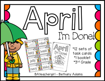 April I'm Done ~*Third Grade*~