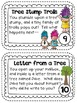 April Imagination Building Writing Prompt Cards