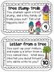 April Imagination Building Writing Prompt Cards