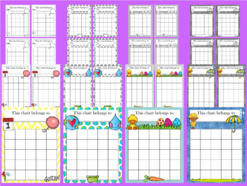 April Incentive Chart BUNDLE