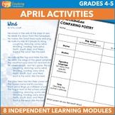 April Independent Learning Module (ILM) Seasonal Chromeboo