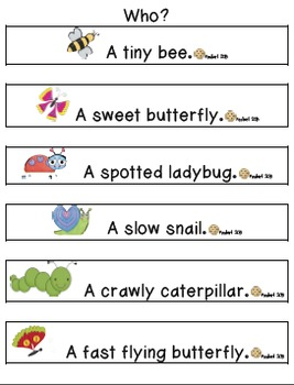 April Insects & Flowers Writing Explanatory & Narrative Stories
