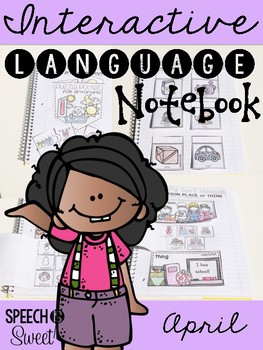 April Interactive Language Notebook