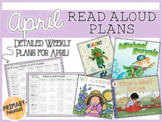 April Interactive Read Aloud Plans